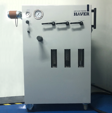 Valve pocket ventilation tester